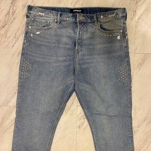 Express Studded Vintage Fit Jean